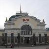 Железнодорожные вокзалы в Заплюсье